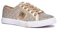 GByGUESS G By Guess Women's Byrone Quilted Metallic Sneakers $59.99 thestylecure.com