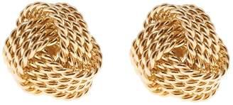 Reiss MAE EARRINGS KNOT DETAIL EARRINGS Gold