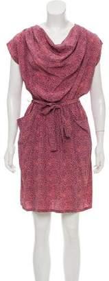 No.6 Knee-Length Silk Dress