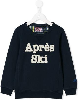 MC2 Saint Barth Kids après ski sweatshirt