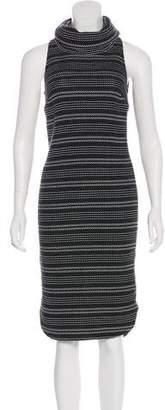 Intermix Knit Midi Dress