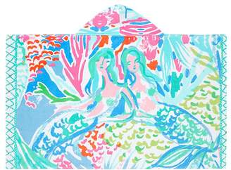 Pottery Barn Kids Lilly Pulitzer Mermaid Cove Wrap