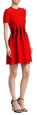 Alexander McQueen Corset Stitched Dress
