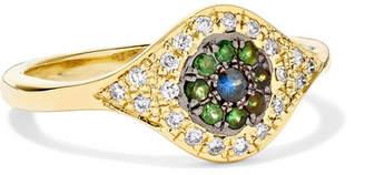 Ileana Makri Cats Eye 18-karat Gold Multi-stone Ring