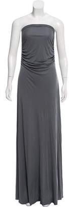 Rick Owens Lilies Strapless Maxi Dress