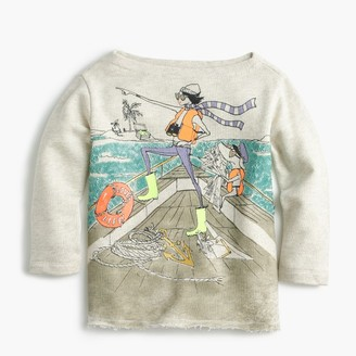 Girls' Olive and Izzy sailing T-shirt $59.50 thestylecure.com
