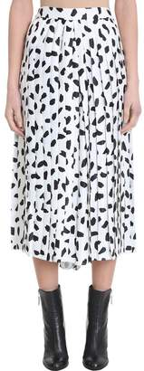 Off-White White Pliss? Black And White Culotte Pant