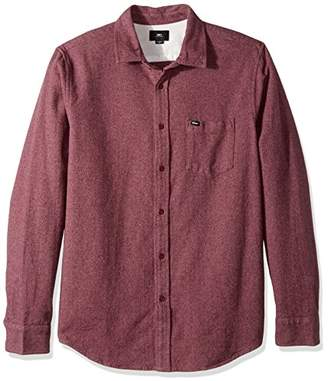 Obey Men's Harrington Regular Fit Woven Long Sleeve