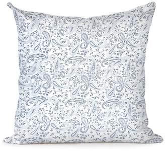India Amory Shale Paisley Pillowcase