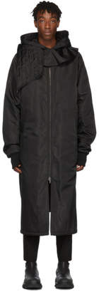 D.gnak By Kang.d Black Detachable Hood Coat