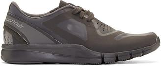adidas by Stella McCartney Grey Alayta Sneakers $145 thestylecure.com