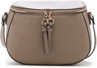 Sole Society Deana Faux Leather Crossbody Bag