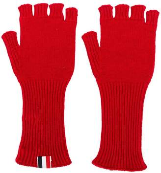 Thom Browne fingerless gloves