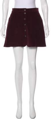 Paul & Joe Sister Corduroy Mini Skirt