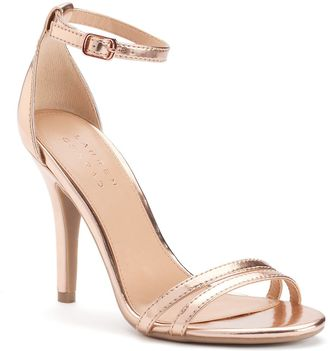 LC Lauren Conrad Women's Ankle Strap High Heels $59.99 thestylecure.com