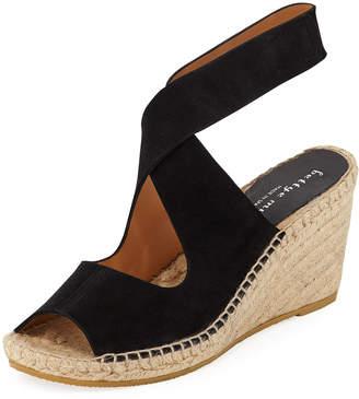 Bettye Muller Mobile Low Wedge Sandal, Black
