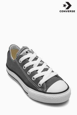 Boys Converse Chuck Taylor All Star Ox - Grey