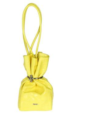 "Kenzo gyoza Purse"" Bag In Yellow Leather"