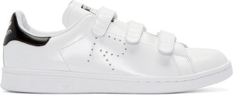 Raf Simons White adidas Edition Stan Smith Comfort Sneakers $415 thestylecure.com