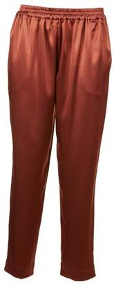 Gianluca Capannolo Satin Tapered Trousers
