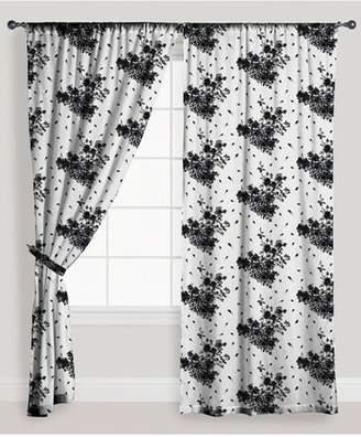 Vera Home Rose Window Panels