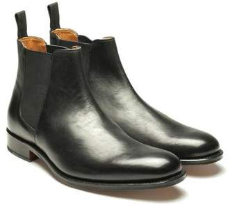 Grenson Shoes Declan Leather Chelsea Boot in Black
