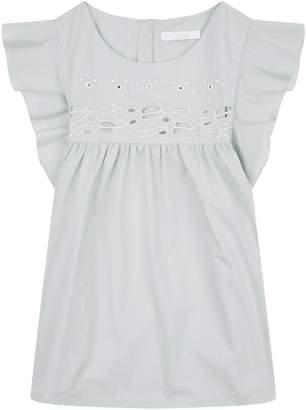 Chloé Ruffle Sleeve Shirt
