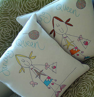 Seabright Designs Personalised Dancing Queen Cushion