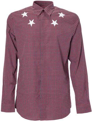 Givenchy Checked Star Shirt