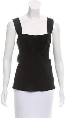 Narciso Rodriguez Sleeveless Silk Top