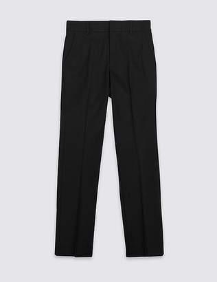 Marks and Spencer Senior Boys' Slim Fit Slim Leg Trousers
