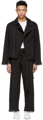 Craig Green Black Cord Biker Jacket