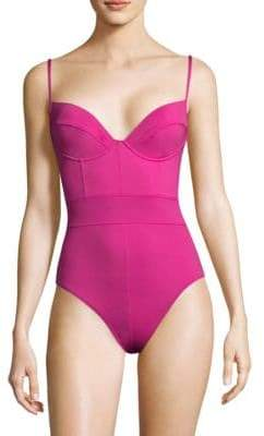 Proenza Schouler One-Piece Underwire Swimsuit