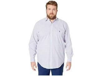 Polo Ralph Lauren Big Tall Natural Stretch Poplin Long Sleeve Classic Fit Jacket