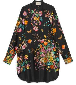 Gucci Silk dress with flowers