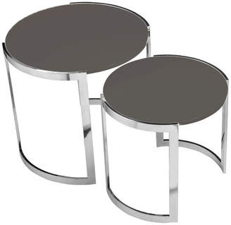 Pangea Home Omni Nesting Side Tables, 2-Piece Set