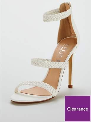 Office Harmony High Heel Shoe - White