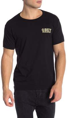 Obey Patch It Up Graphic Print Tee