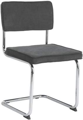 STUDY Sevilla Grey cantilevered dining chair