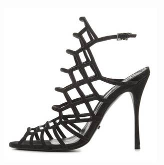 Schutz Juliana Caged Heel $190 thestylecure.com