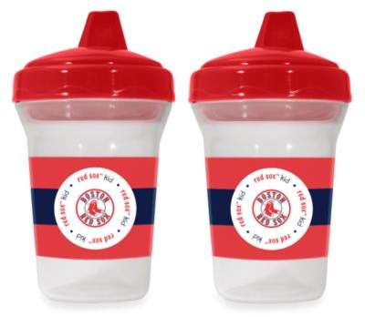 Mlb Boston Red Sox Baby Fanatic MLB 2-Pack Sippy Cup