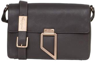 Foley + Corinna Valerie Geo Patch Leather Shoulder Bag