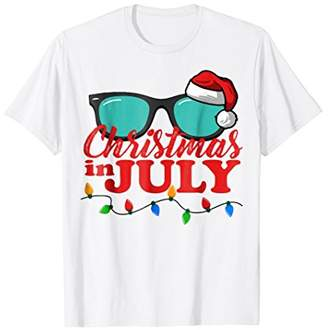 Christmas in July Santa Hat Sunglasses Summer Celebration