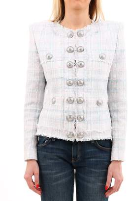 Balmain Tweed Jacket Pastel