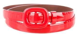 Ralph Lauren Patent Leather Waist Belt