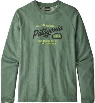 Patagonia Splitter Script Lightweight Crew Sweatshirt - Men's