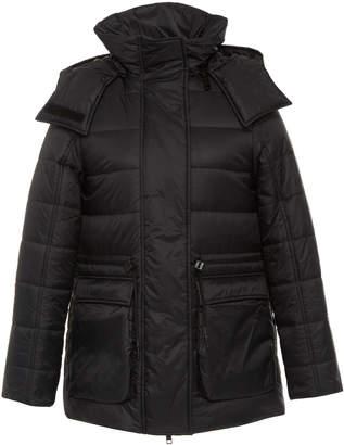 Yves Salomon Paris Hooded Shell Puffer Jacket