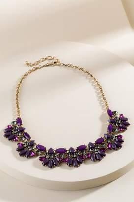 francesca's Lennon Statement Necklace in Purple - Purple