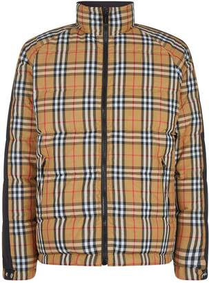Burberry Reversible Vintage Check Puffer Jacket