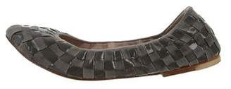 Bloch Woven Round-Toe Flats